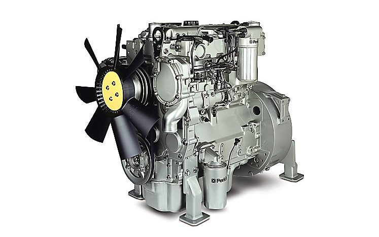 PERKINS DIESEL ENGINE 1104A-44T