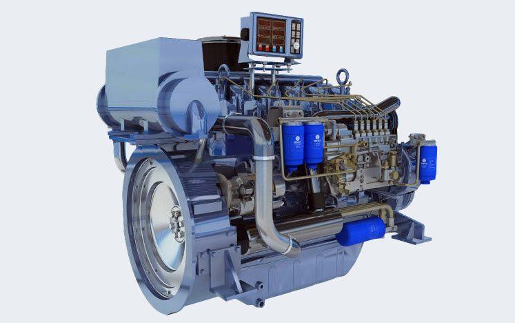 Weichai Maine Engine WP6 163HP
