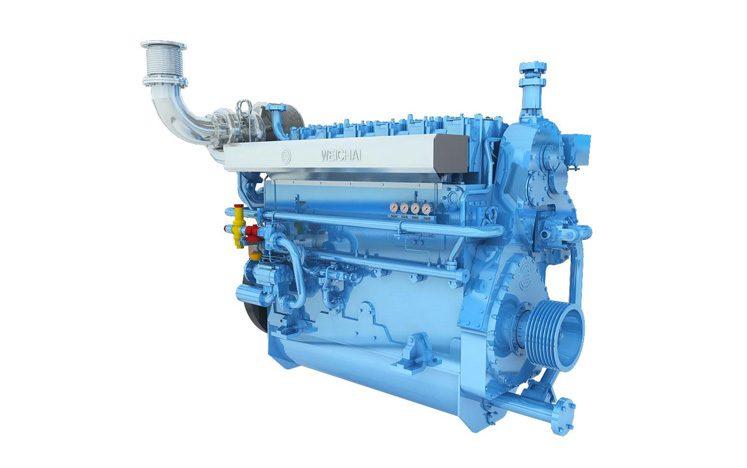 Marine Medium-speed Engine CW6200
