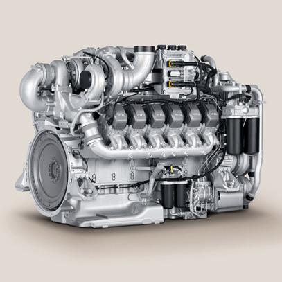 MTU diesel engine